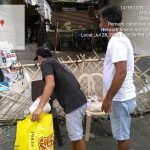 Continuous Relief Distribution is being Administered to different Barangays in Bacolor, Pampanga
