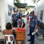 All personnel of Bacolor Municipal Police Station undergo mandatory drug testing as part of an ongoing internal cleansing program. Said activity aims to rid the organization of drug-using cops. (February 24, 2021)