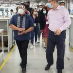 Inspection at Superl, Phils Inc. Angeles Industrial Park